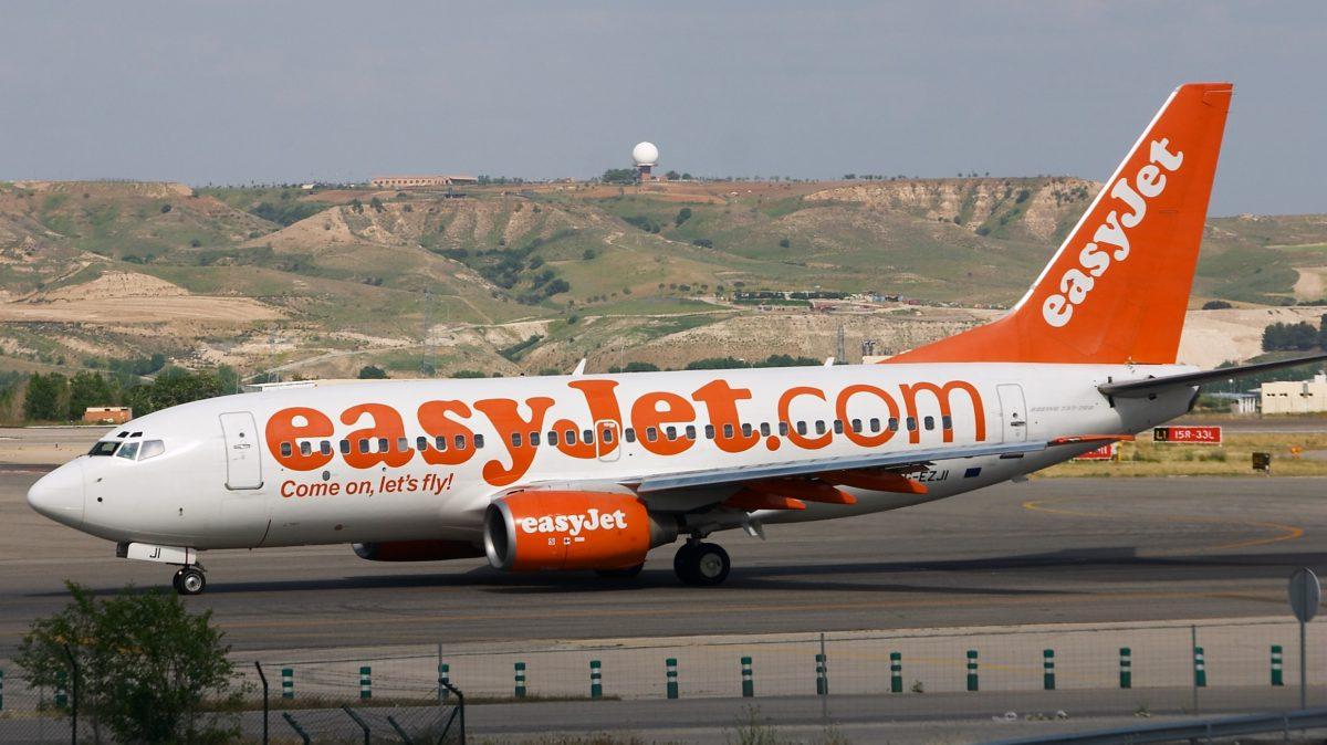 EasyJet named the worst airline for delayed flights